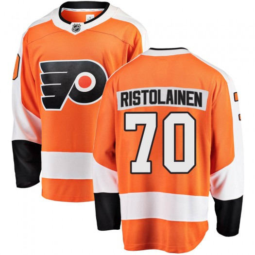 Rasmus Ristolainen Philadelphia Flyers Men's Fanatics Branded Orange Breakaway Home Jersey