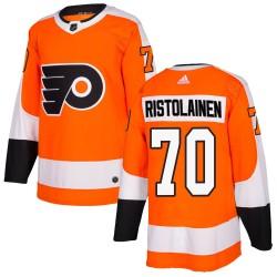 Rasmus Ristolainen Philadelphia Flyers Youth Adidas Authentic Orange Home Jersey
