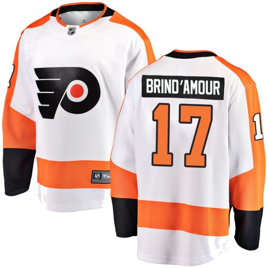 Rod Brind'amour Philadelphia Flyers Men's Fanatics Branded White Breakaway Away Jersey