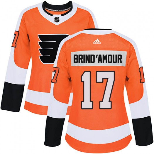Rod Brind'amour Philadelphia Flyers Women's Adidas Authentic Orange Home Jersey
