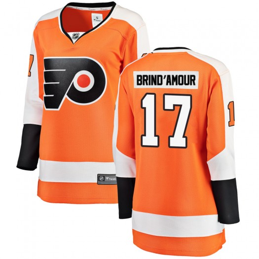 Rod Brind'amour Philadelphia Flyers Women's Fanatics Branded Orange Breakaway Home Jersey