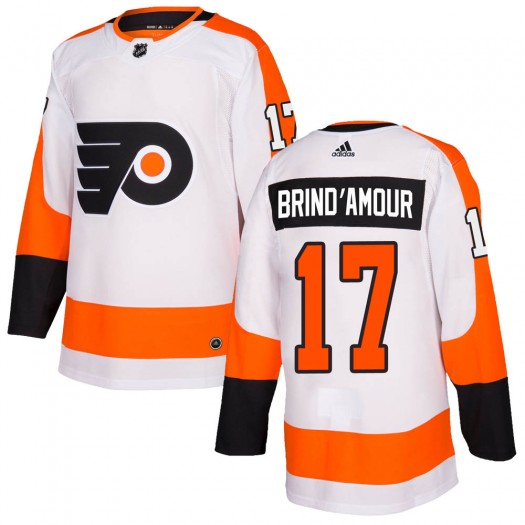 Rod Brind'amour Philadelphia Flyers Youth Adidas Authentic White Jersey