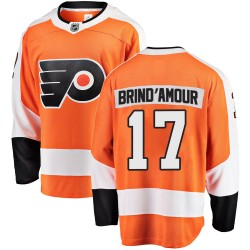 Rod Brind'amour Philadelphia Flyers Youth Fanatics Branded Orange Breakaway Home Jersey