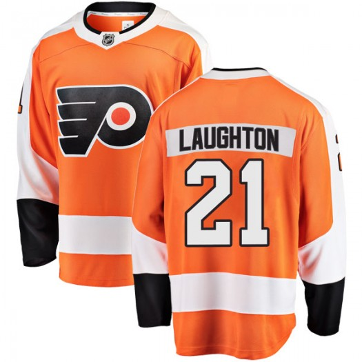 Scott Laughton Philadelphia Flyers Men's Fanatics Branded Orange Breakaway Home Jersey