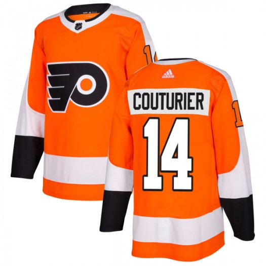 Sean Couturier Philadelphia Flyers Men's Adidas Authentic Orange Jersey