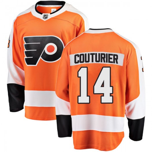 Sean Couturier Philadelphia Flyers Men's Fanatics Branded Orange Breakaway Home Jersey