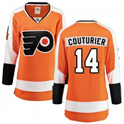 Sean Couturier Philadelphia Flyers Women's Fanatics Branded Orange Home Breakaway Jersey