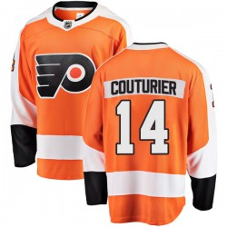 Sean Couturier Philadelphia Flyers Youth Fanatics Branded Orange Breakaway Home Jersey