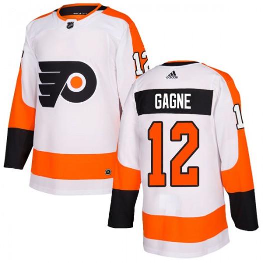 Simon Gagne Philadelphia Flyers Men's Adidas Authentic White Jersey