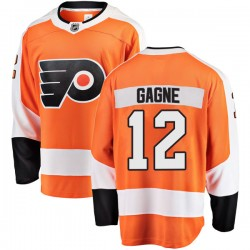 Simon Gagne Philadelphia Flyers Men's Fanatics Branded Orange Breakaway Home Jersey
