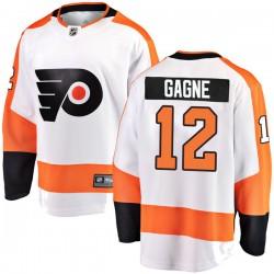 Simon Gagne Philadelphia Flyers Youth Fanatics Branded White Breakaway Away Jersey