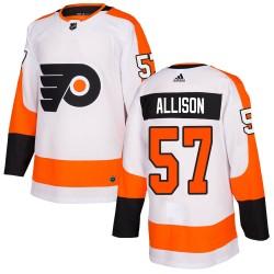 Wade Allison Philadelphia Flyers Youth Adidas Authentic White Jersey