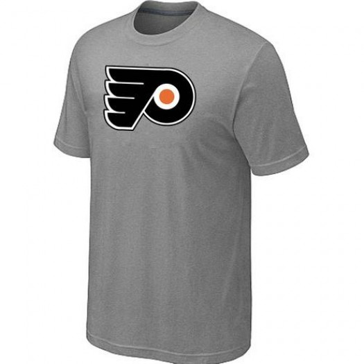 Philadelphia Flyers Men's Grey Big & Tall Logo T-Shirt