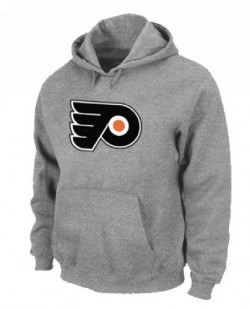 Philadelphia Flyers Men's Grey Pullover Hoodie