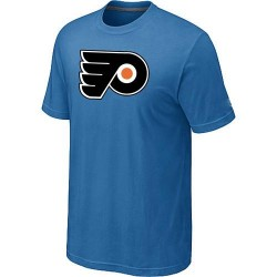 Philadelphia Flyers Men's Light Blue Big & Tall Logo T-Shirt
