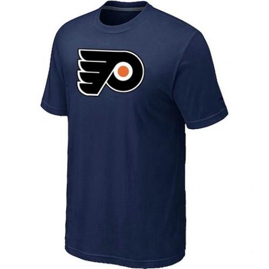Philadelphia Flyers Men's Navy Big & Tall Logo T-Shirt