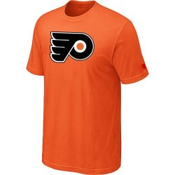 Philadelphia Flyers Men's Orange Big & Tall Logo T-Shirt