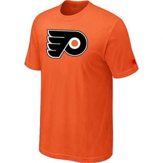 Philadelphia Flyers Men's Orange Big & Tall Logo T-Shirt