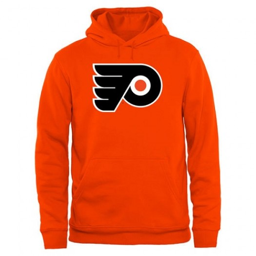 Philadelphia Flyers Men's Orange Rinkside Big & Tall Primary Logo Pullover Hoodie