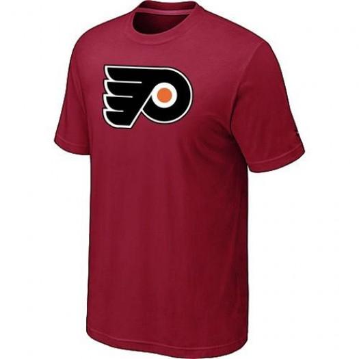 Philadelphia Flyers Men's Red Big & Tall Logo T-Shirt