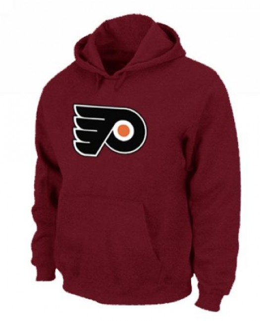 Philadelphia Flyers Men's Red Pullover Hoodie