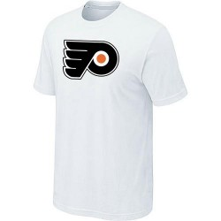Philadelphia Flyers Men's White Big & Tall Logo T-Shirt