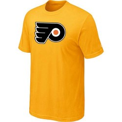 Philadelphia Flyers Men's Yellow Big & Tall Logo T-Shirt