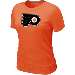 Philadelphia Flyers Women's Orange Big & Tall Logo T-Shirt
